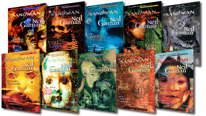Sandman Graphic Novels (Covers)