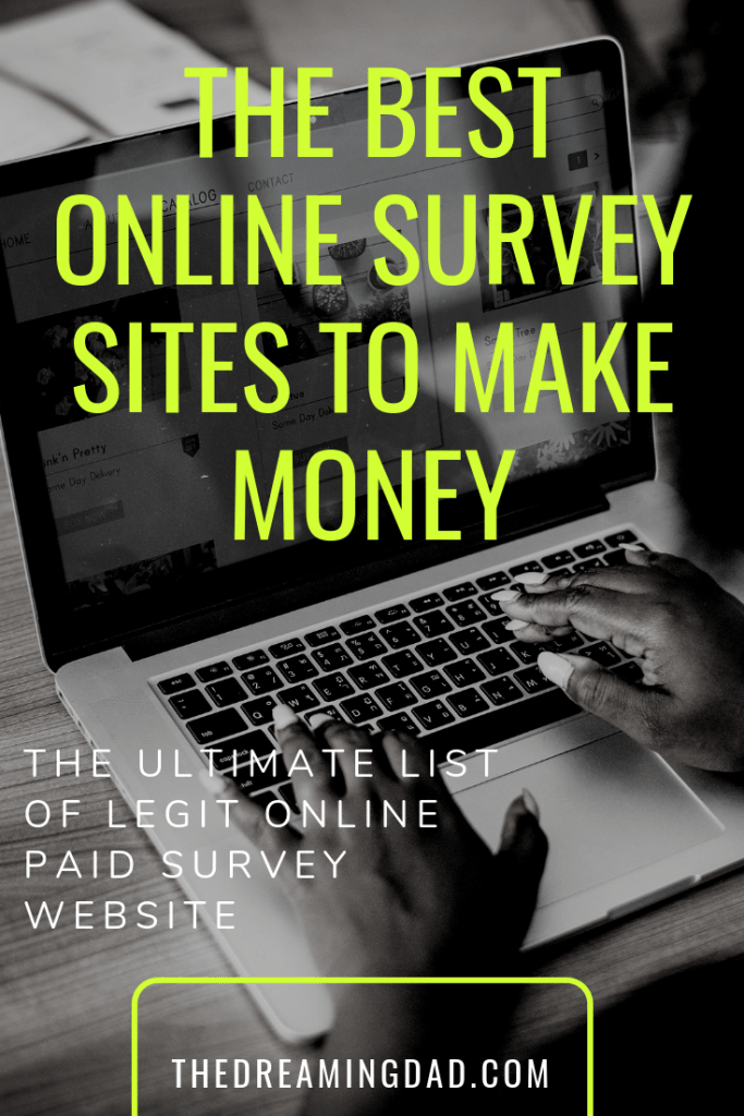 How to make money with Paid online survey website – The Dreaming Dad
