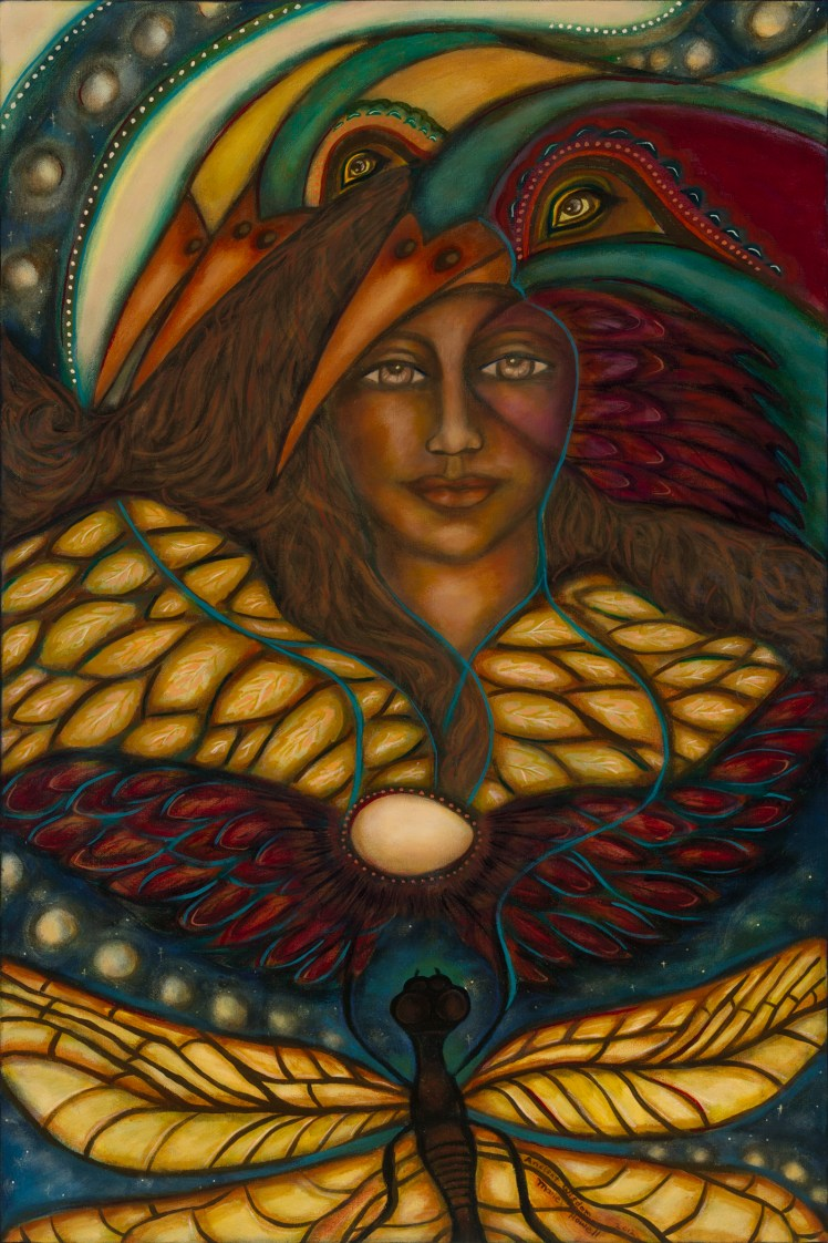 """Ancient Wisdom"" by Marie Howel www.finaeartamerica.com"
