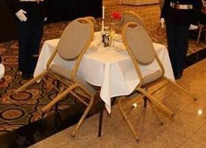 Terrible POW-MIA Table Setup