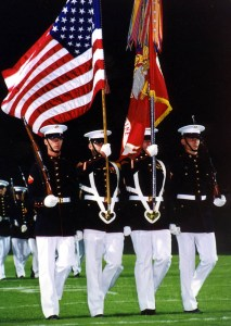 Drill team training and honor guard training at its best!