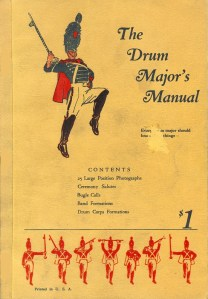 1930 Cover Drum Major's Manual