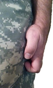 Army Honor Guard Hand Style