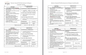 HG Performance Critique for Web