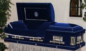 air-force-casket-full Vet caskets dot com