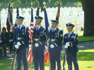 Base Honor Guard in France