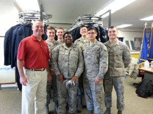 DrillMaster and Air Force Honor Guard Airmen