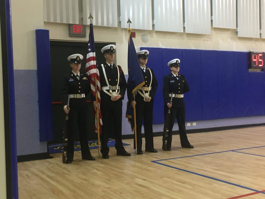 Sigonella NJROTC Color Guard