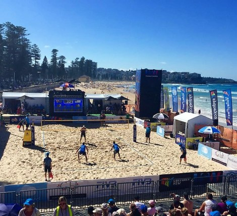 Manly Beach Volleyfest