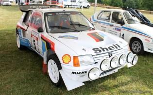Peugeot 205 T16 Group B Rally Goodwood Festival of Speed 2014