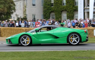 Jay Kay LaFerrari Goodwood Festival of Speed 2014