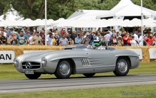 Mercedes SL Goodwood Festival of Speed 2014