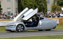 VW XL1 electric Goodwood Festival of Speed 2014