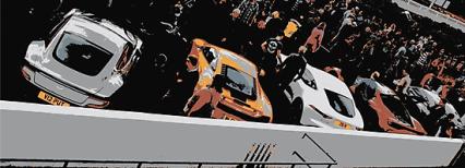 Supercar lineup canvas print the driven blog