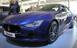Maserati Ghibli Goodwood Festival of Speed 2015