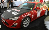 Toyota GT86 Ove Andersson Celica 1600GT retro livery Goodwood Festival of Speed 2015