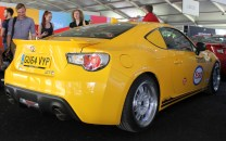 Toyota GT86 Yatabe speed trial 2000GT retro livery Goodwood Festival of Speed 2015