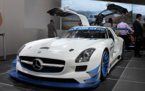 Mercedes SLS AMG GT3R Goodwood Festival of Speed 2015