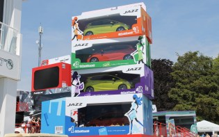 Honda Jazz toy boxes Goodwood Festival of Speed 2015