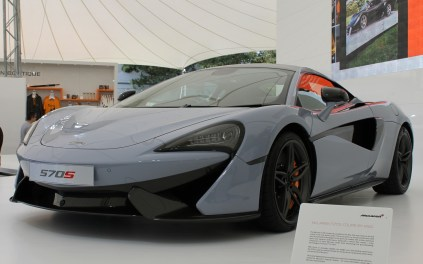 McLaren 570S Goodwood Festival of Speed 2015