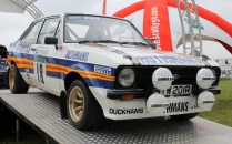 Ford Escort MK2 RS200 Rothmans rally Cholmondeley Power and Speed 2016