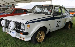Ford Escort RS rally car Cholmondeley Power and Speed 2016