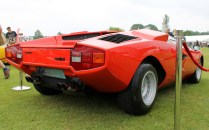 Lamborghini Countach no spoiler Cholmondeley Power and Speed 2016