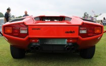 Lamborghini Countach rear Cholmondeley Power and Speed 2016