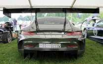 Mercedes AMG GT rear Cholmondeley Power and Speed 2016