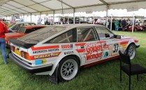 Rover SD1 Touring car Golden Wonder Cholmondeley Power and Speed 2016