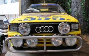 Audi Quattro rally Beaulieu