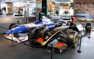 Lotus Renault Williams Rothmans F1 car Beaulieu