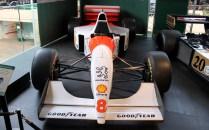 McLaren Peugeot Martin Brundle F1 car Beaulieu
