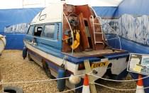 VW Camper Van boat Top Gear Richard Hammond Beaulieu