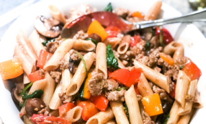 Kid-Friendly Penne Pasta Al Fresco