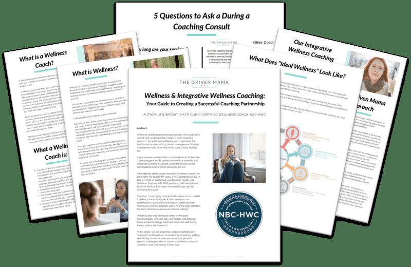 Integrative Wellness Coaching Guide