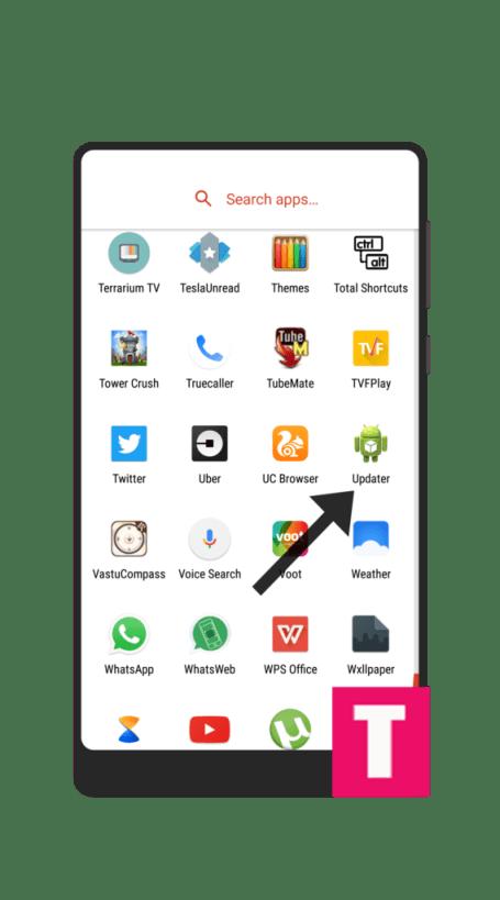 Xiaomi Updater App