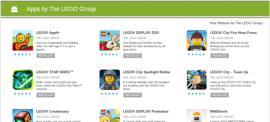 lego duplo app android
