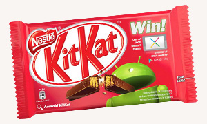 Android-branded KitKat
