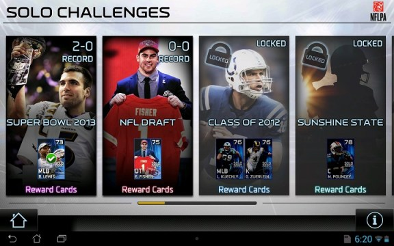 Solo Challenges Madden 25