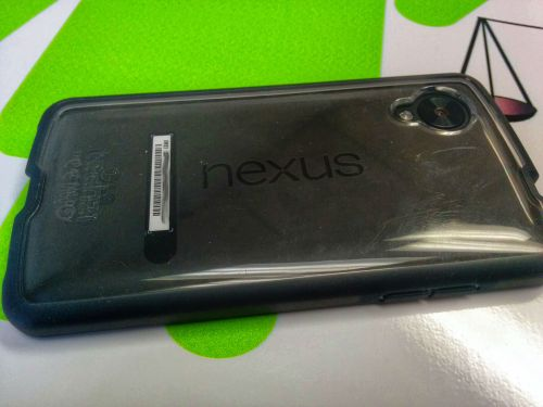 Tech21 Nexus 5 case back view