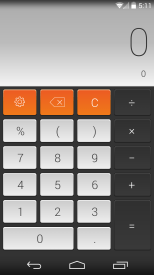CALCU iOS calculator theme