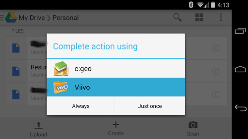 Open with Viivo