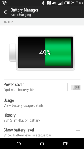 Updated battery