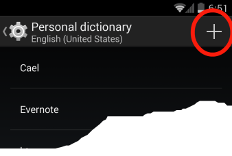 add new dictionary words