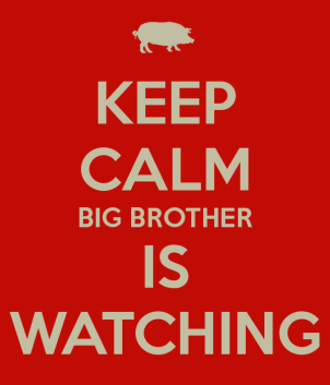 Keep Calm Big Brother is Watching