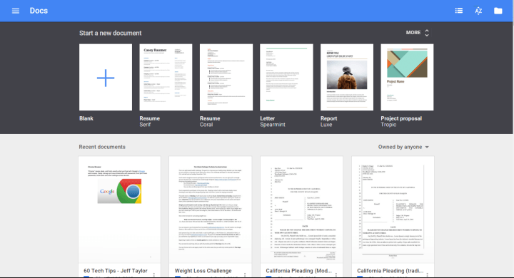New Templates for Google Docs, Sheets, and Slides – The Droid Lawyer