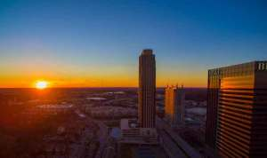 atl commercial real estate drone video