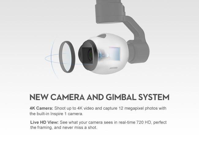 DJI's Inspire 1 camera and gimbal