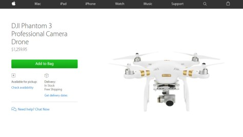 apple dji phantom
